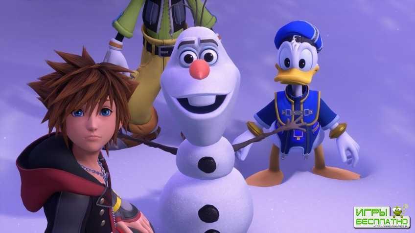 Kingdom Hearts 3 оказалась у игроков за месяц до релиза
