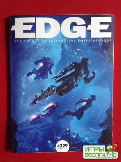 Anthem попала на обложку Edge