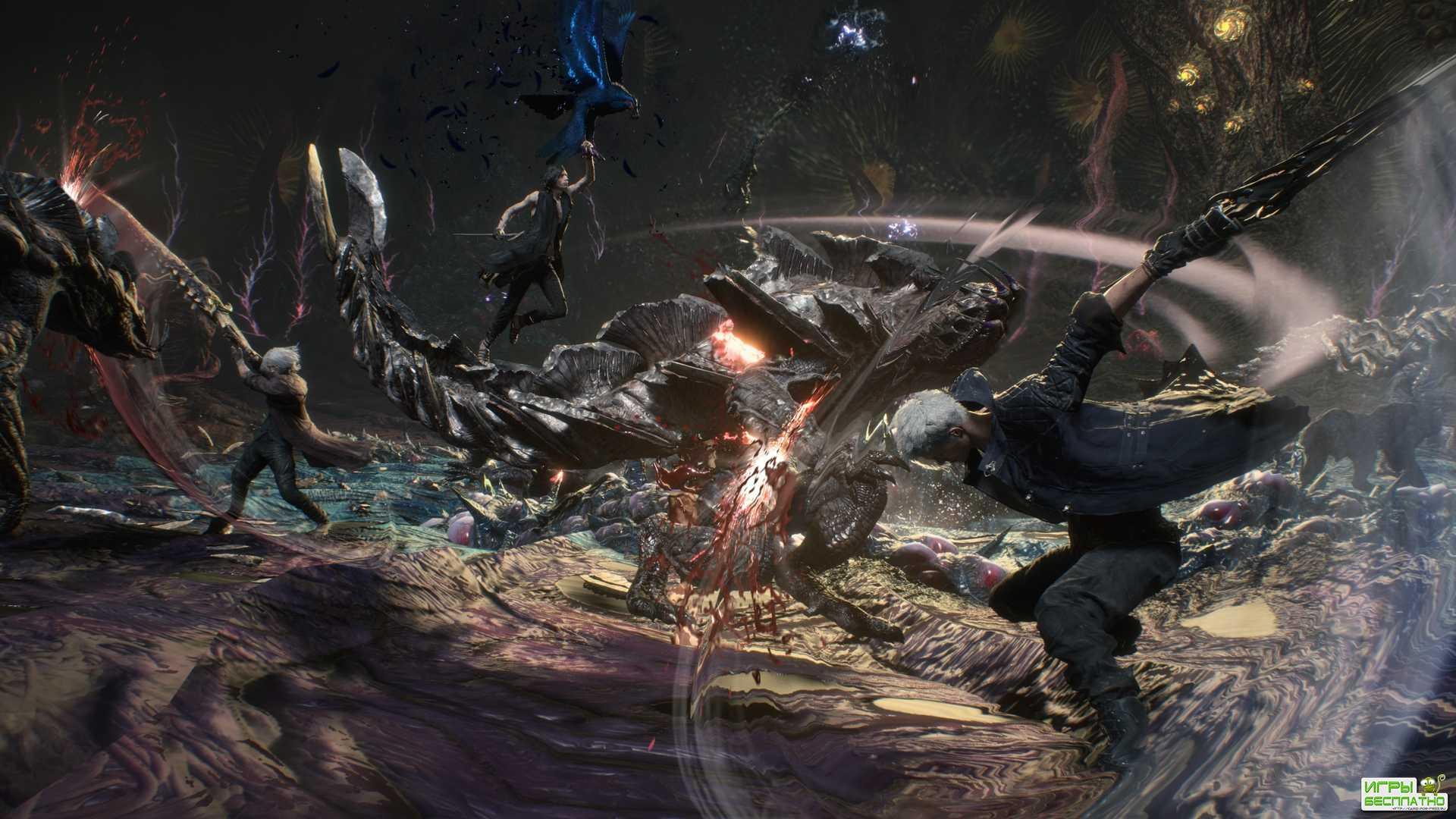 Скоро в Devil May Cry 5 дадут поиграть за известного персонажа серии