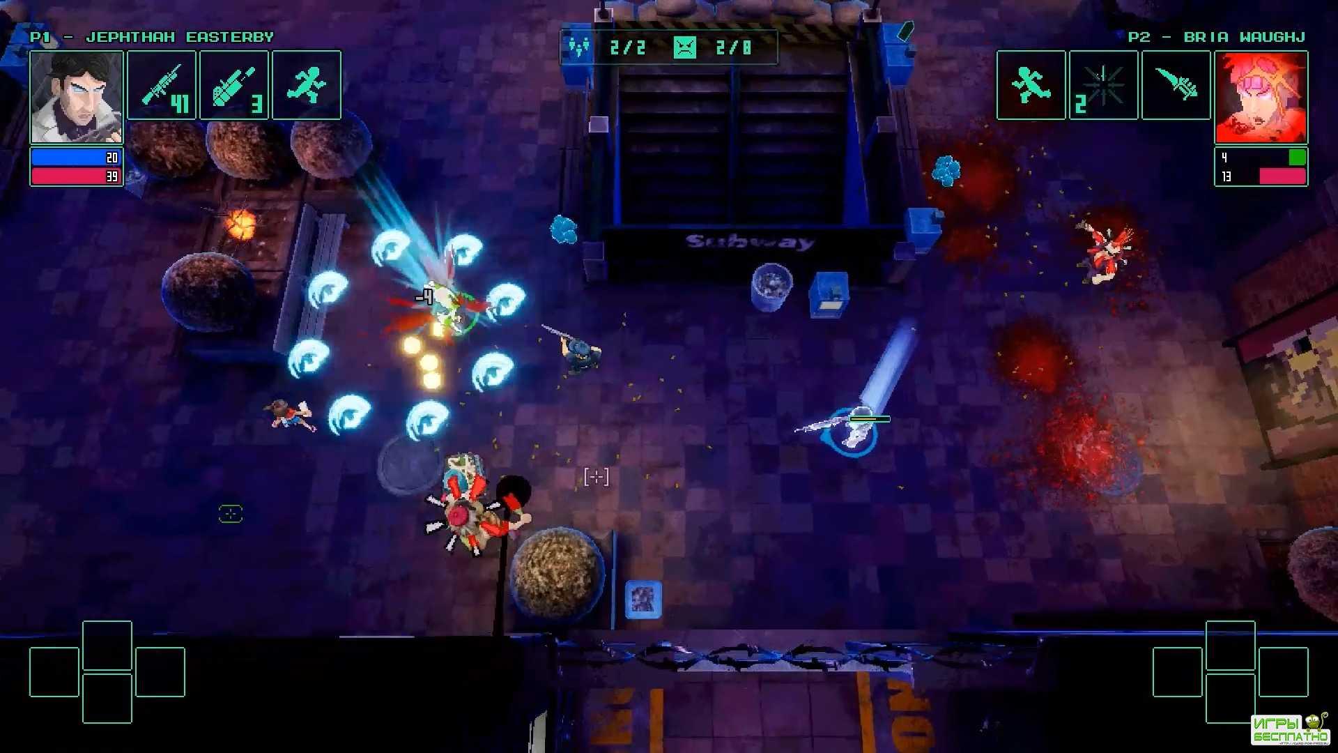 HyperParasite GamePlay PC