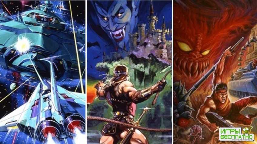 Konami выпустит сборники по Castlevania и Contra