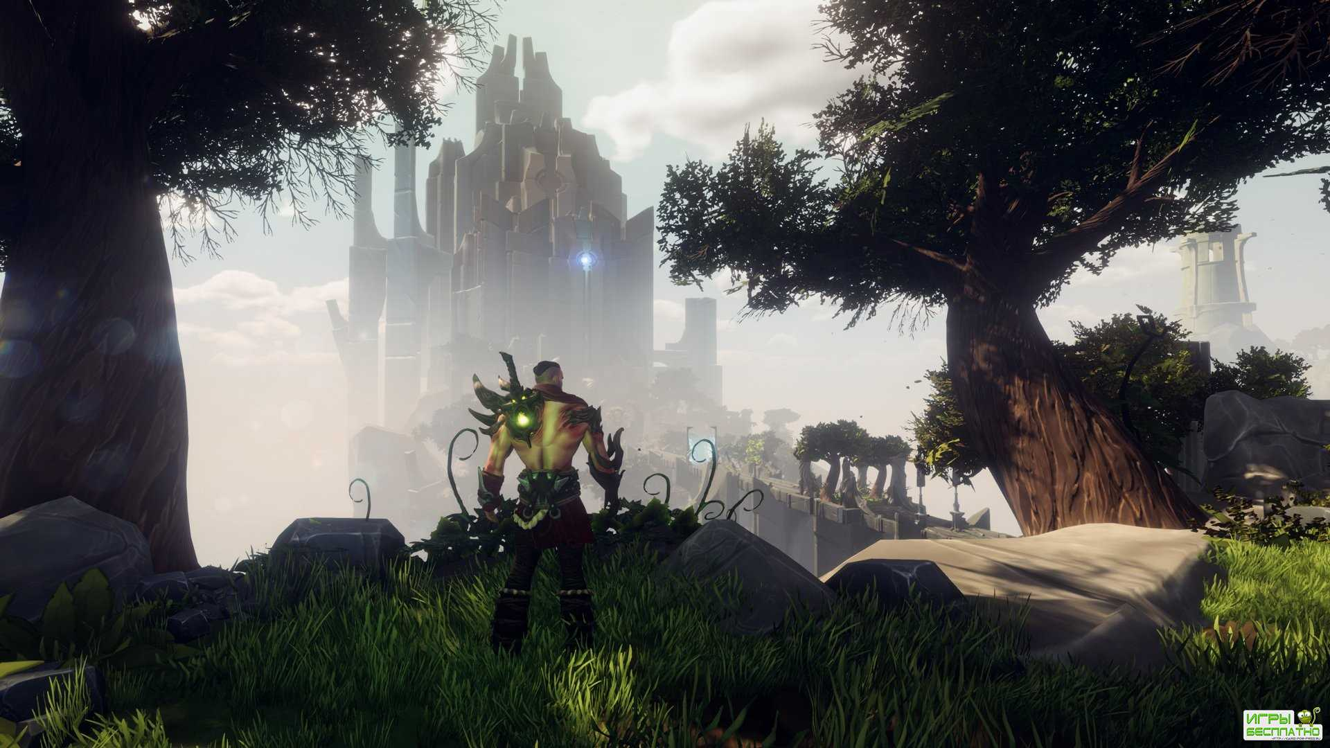 Jedi Knight встречает Metal Gear Rising: Revengeance в ролевой игре Warlander
