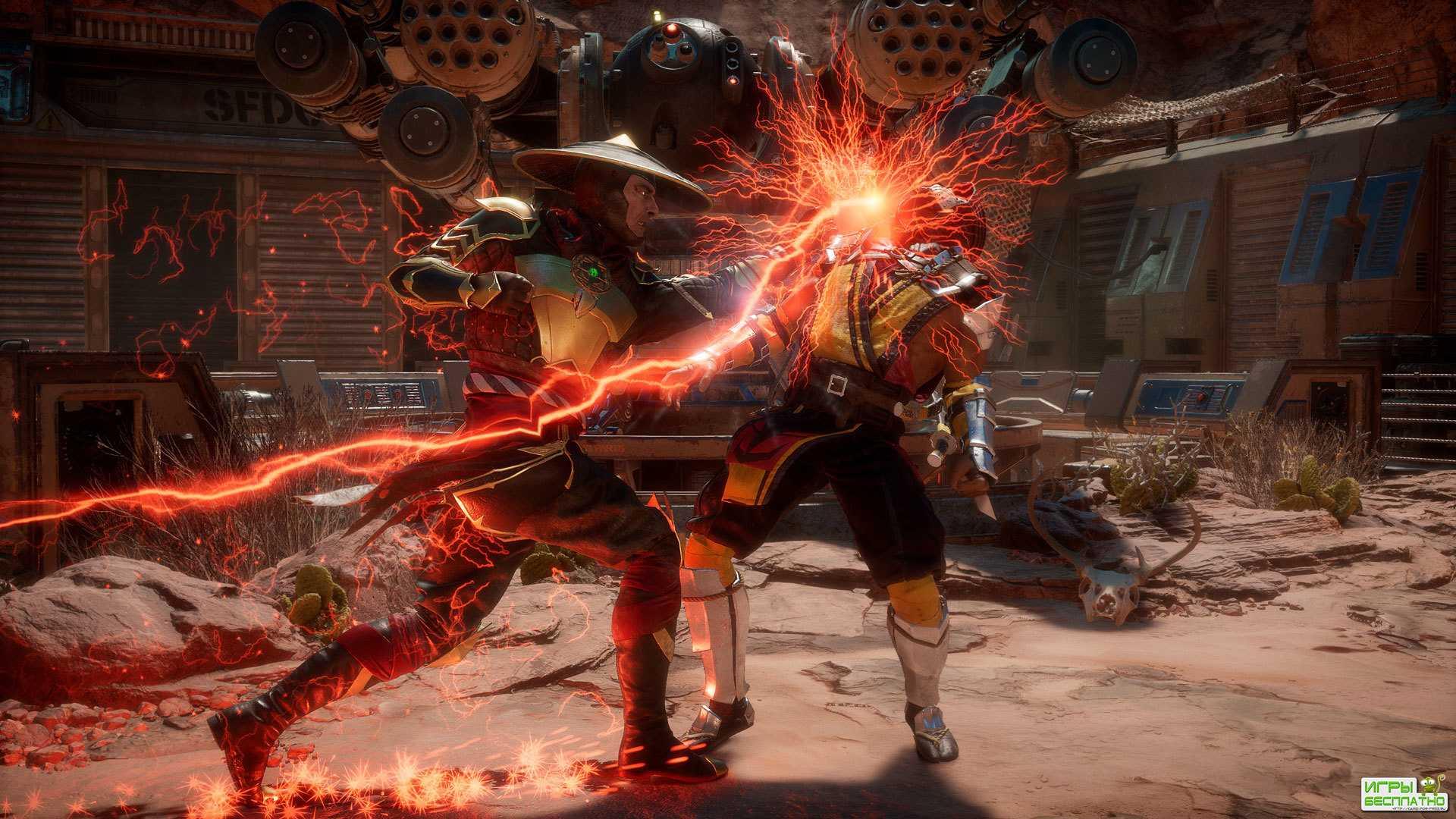 Новый трейлер и подробности Mortal Kombat 11