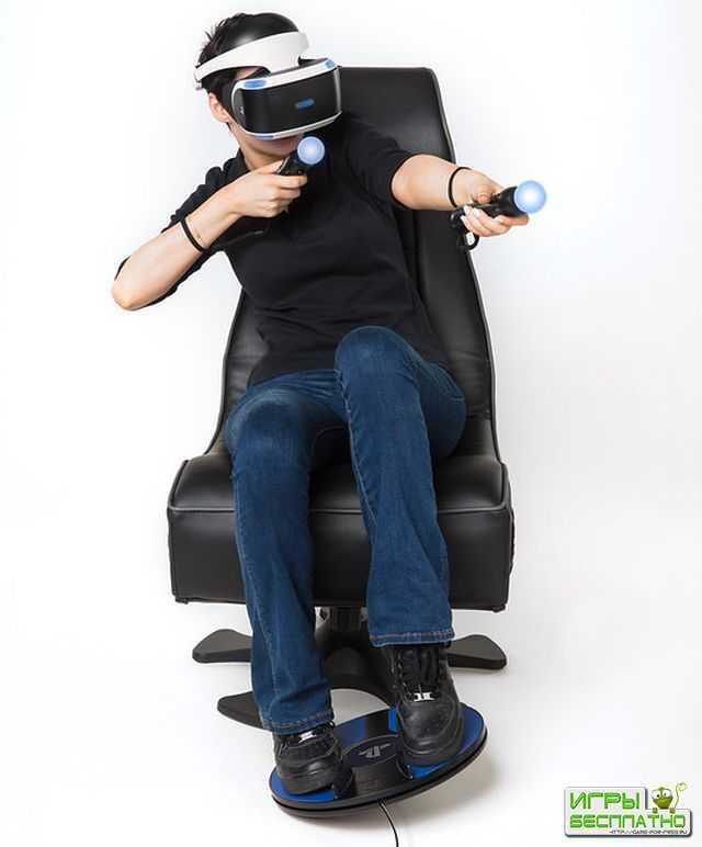 Sony анонсировала контроллер 3dRudder для PlayStation VR