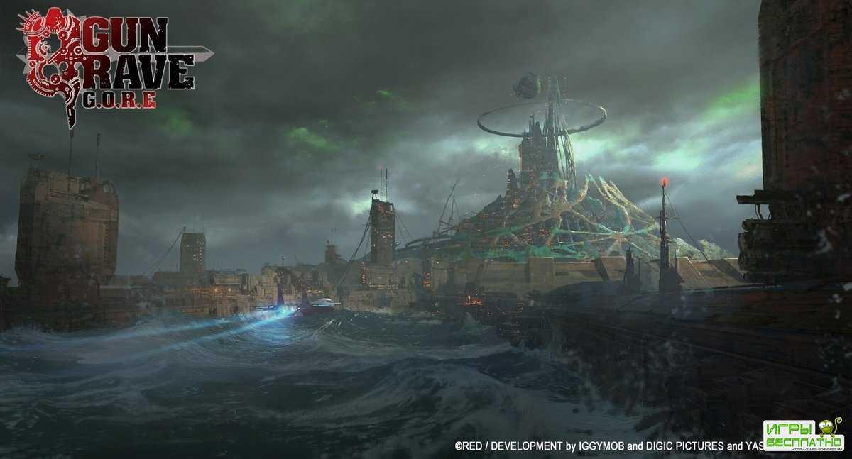 Создатели Gungrave G.O.R.E показали «остров мерзавцев»