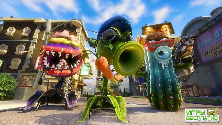В этом году выйдут Need for Speed и Plants vs. Zombies
