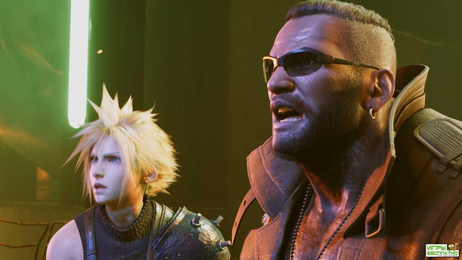 В каком виде выйдет новая Final Fantasy VII