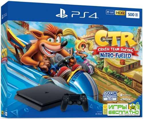 PlayStation 4 выйдет c Crash Team Racing: Nitro-Fueled