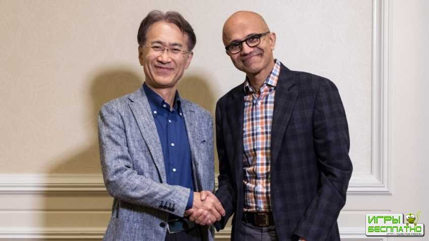 Sony и Microsoft объединились для развития облачного гейминга