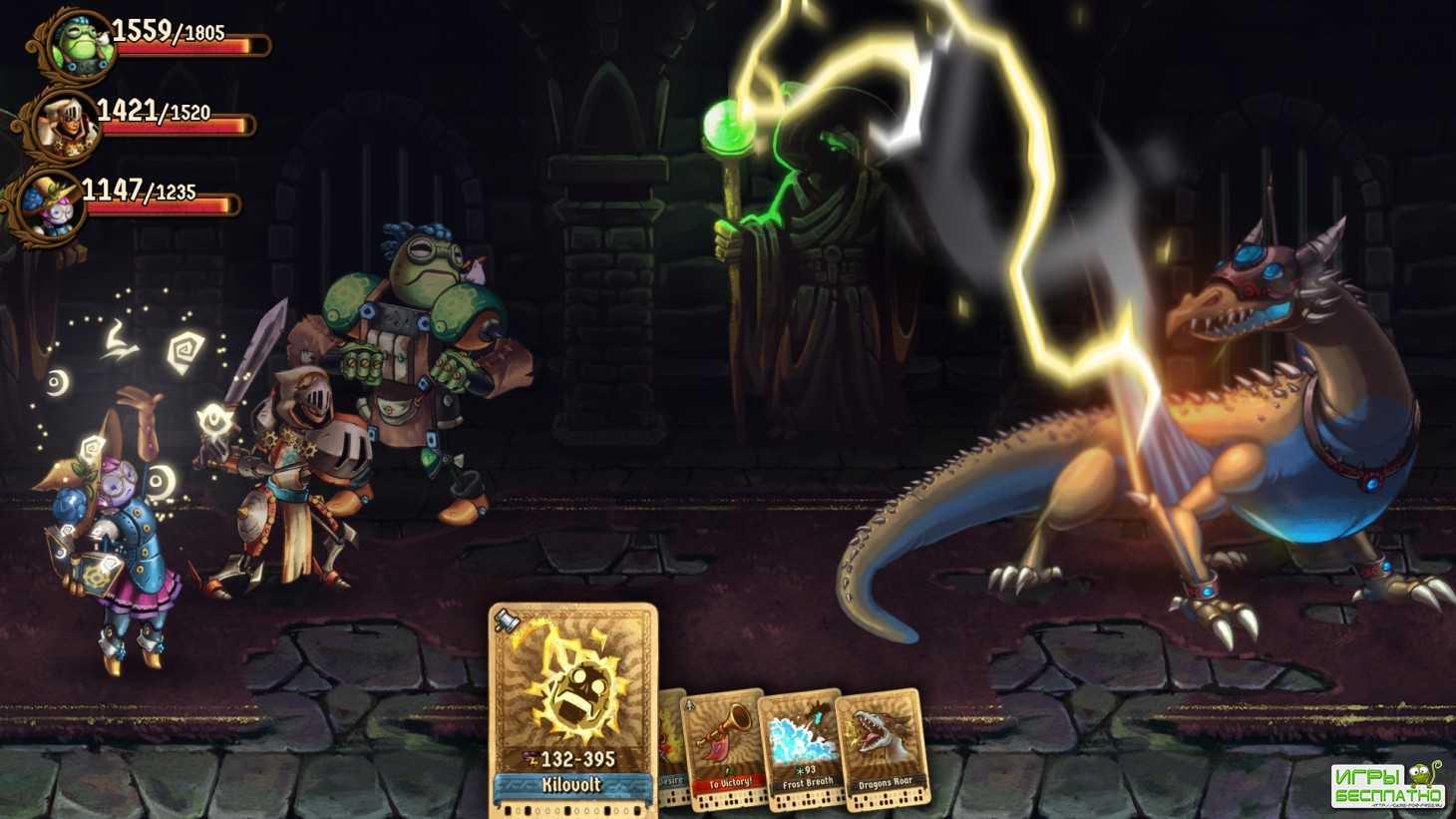 SteamWorld Quest: Hand of Gilgamech GamePlay PC