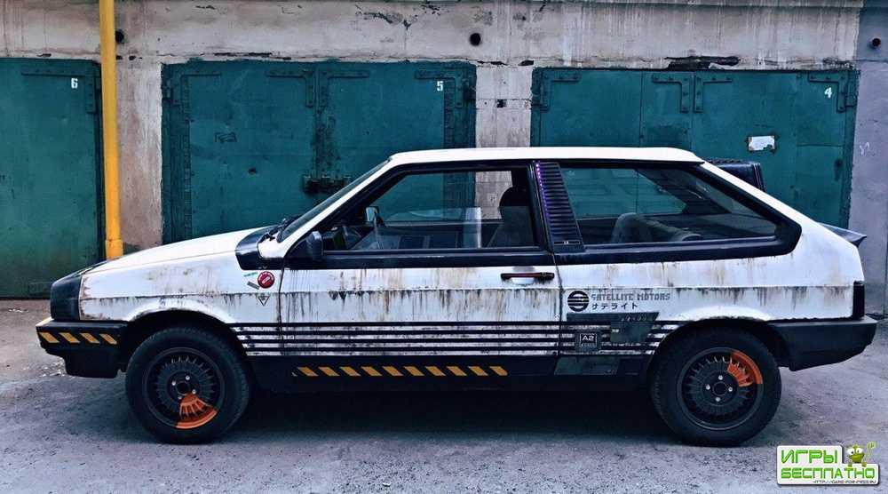 Фанат «Бегущего по лезвию» собрал автомобиль в стиле киберпанк