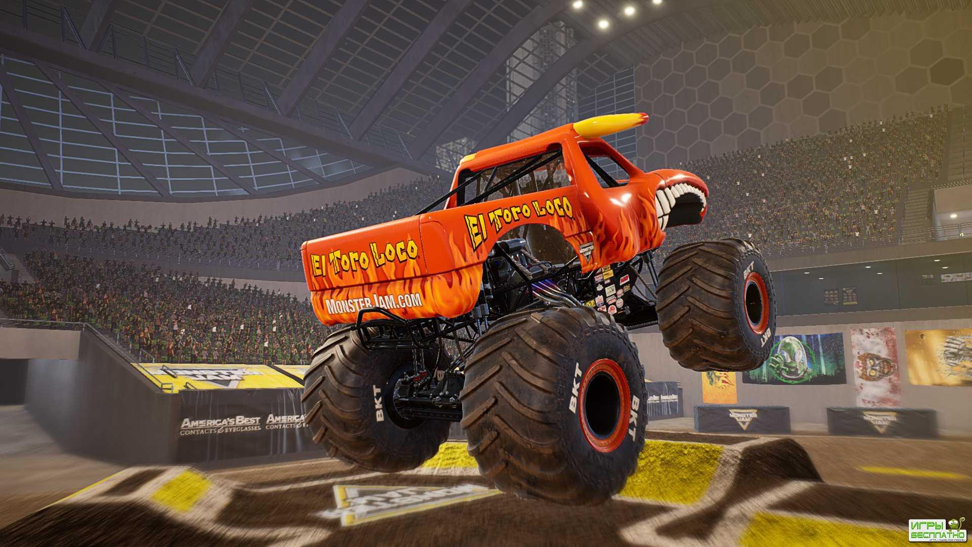 Эксклюзивный геймплей грядущей Monster Jam Steel Titans