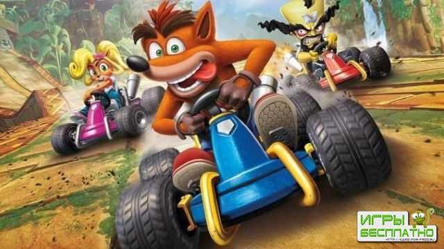 Crash Team Racing: Nitro Fueled получает отличные оценки изданий