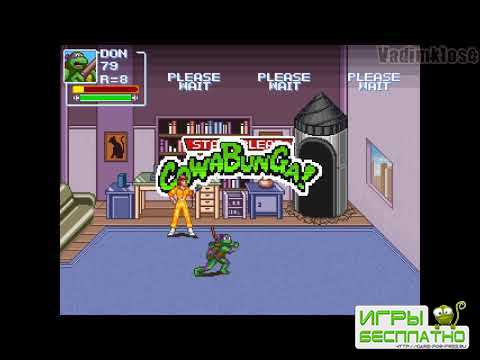 TMNT Rescue Palooza GamePlay PC