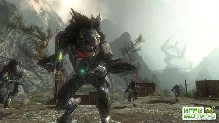 15 минут игрового процесса Halo: Reach на ПК