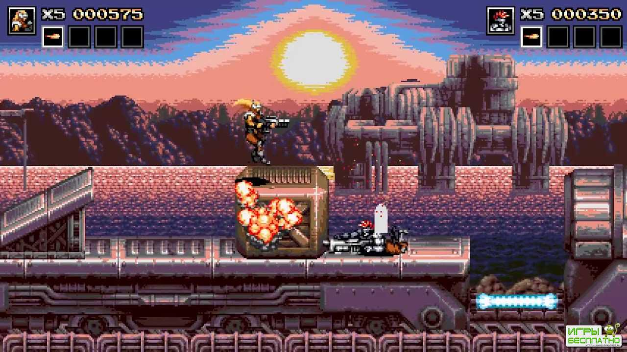 Blazing Chrome GamePlay PC