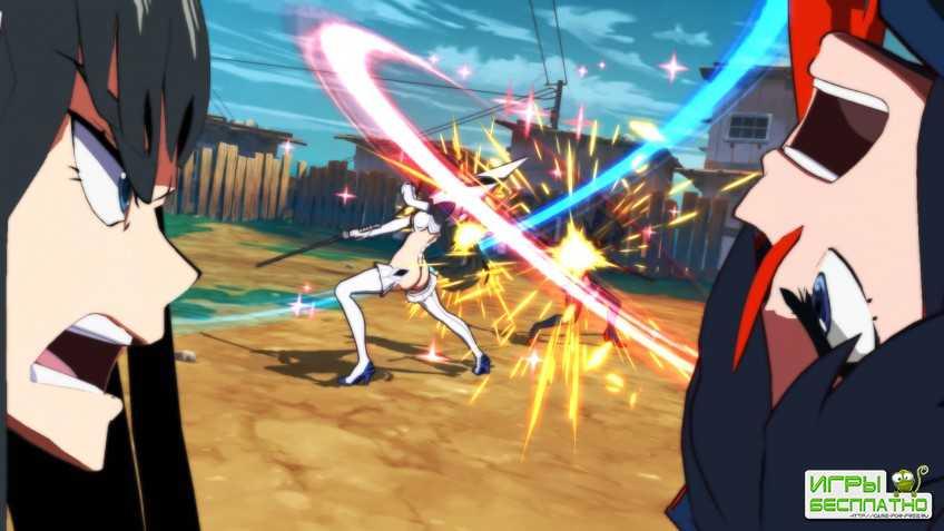 В новых трейлерах Kill la Kill the Game: IF героини сражаются парным оружием