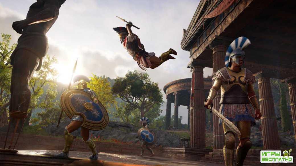 Ubisoft показала 4 минуты геймплея последнего сюжетного DLC для Assassin's Creed Odyssey