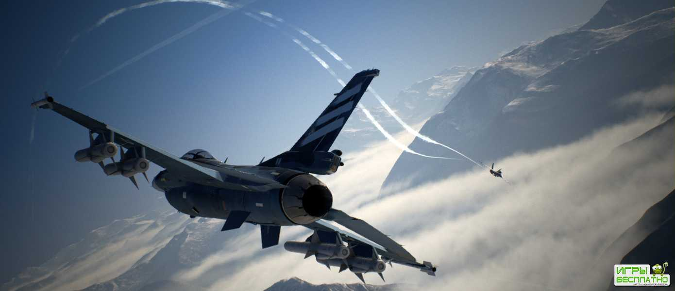 Ace Combat 7: Skies Unknown - Bandai Namco представила трейлер миссии Operation Sighthound