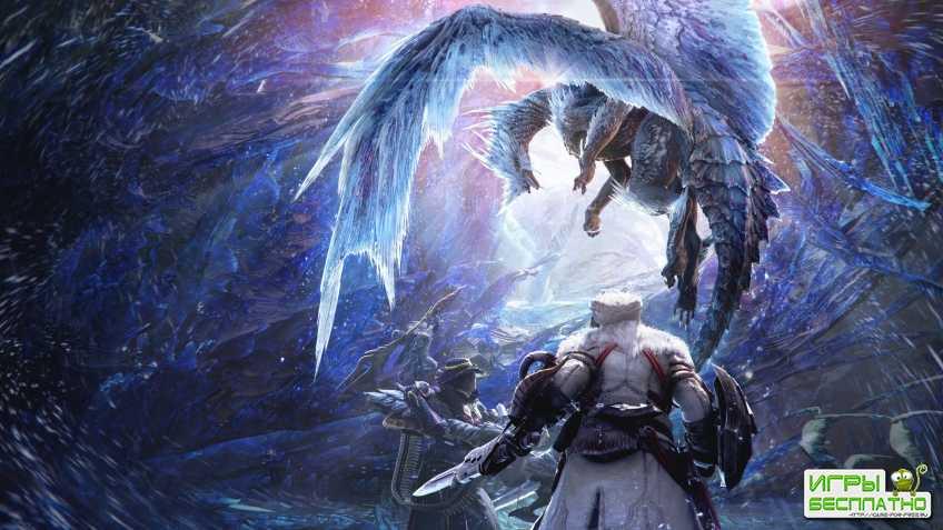 13 минут геймплея Monster Hunter World: Iceborne