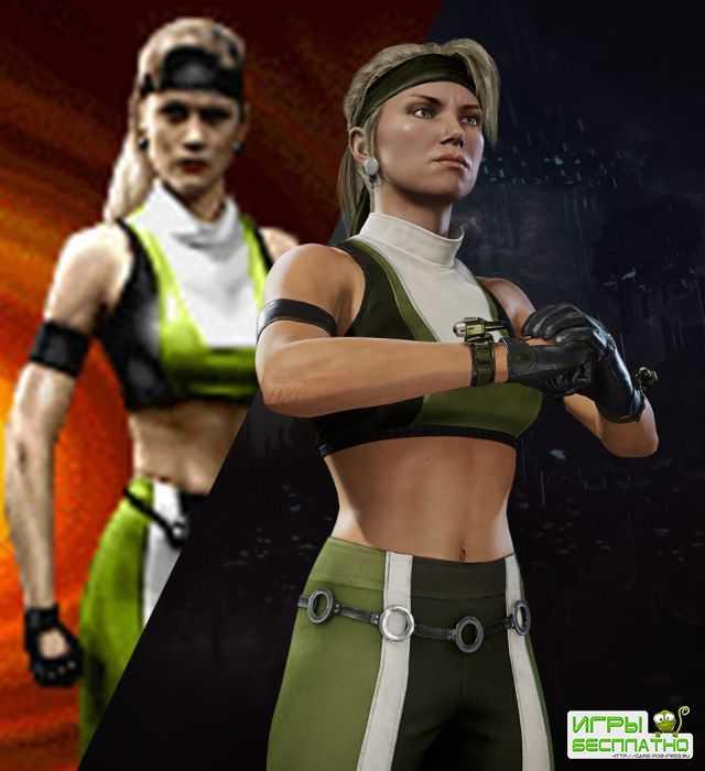 Старая-новая Соня Блейд: в Mortal Kombat 11 появился классический облик для ...