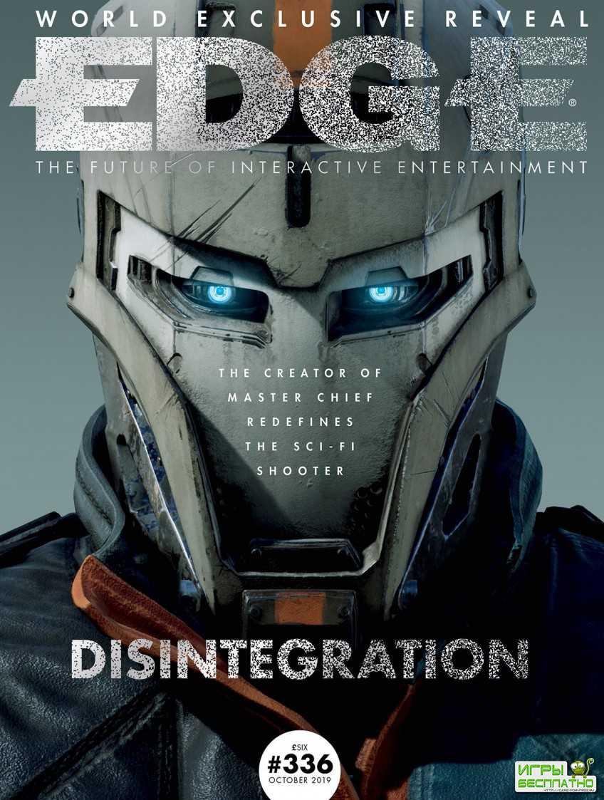EDGE показал первый постер революционного шутера от автора Halo — Disintegr ...