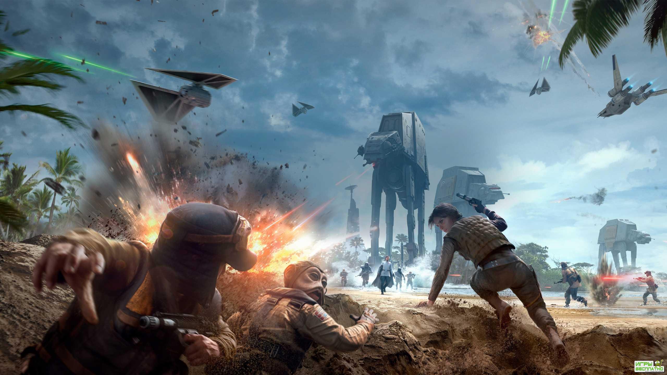 DICE не заинтересована в создании Star Wars Battlefront 3
