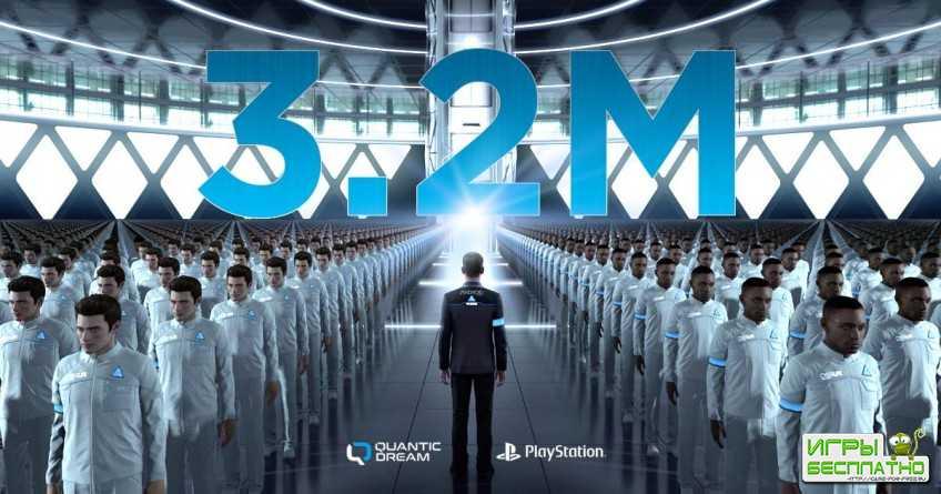 Продажи Detroit: Become Human превысили 3,2 млн копий