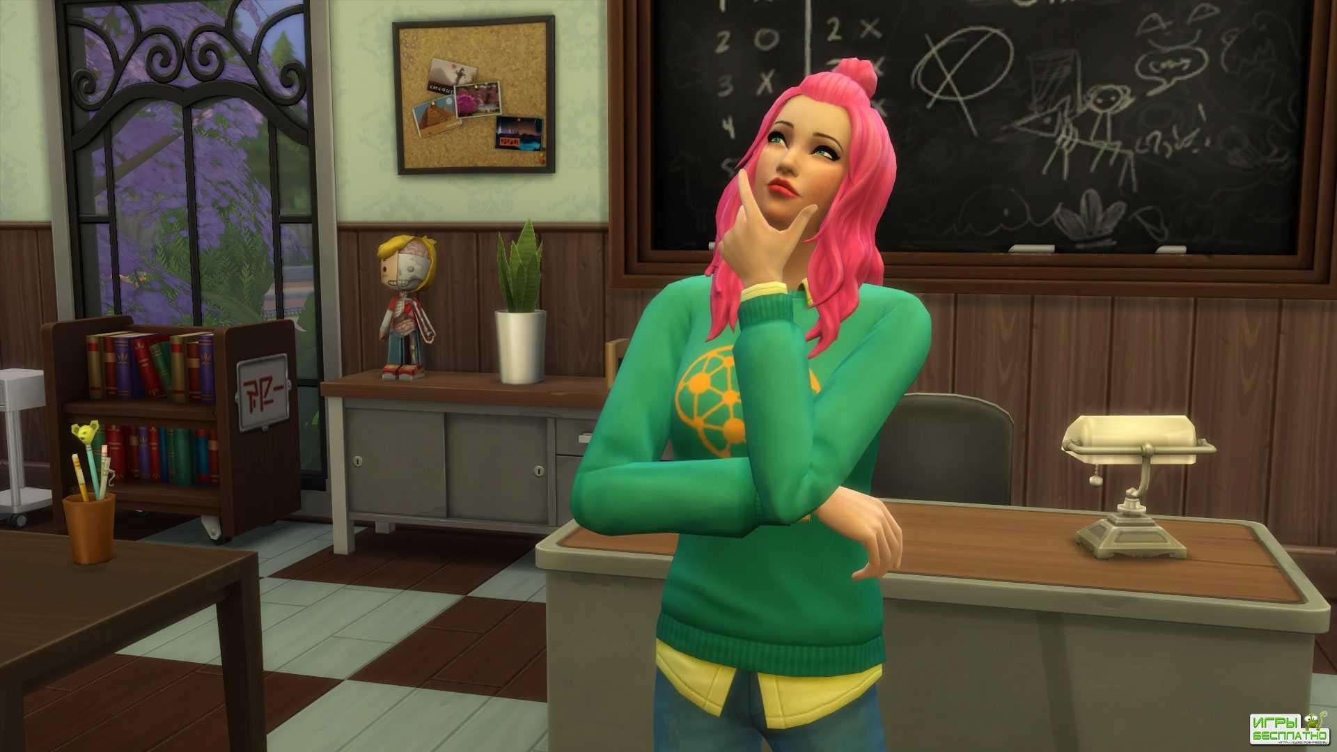 В The Sims 4 добавят Discover University