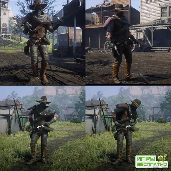 В Red Dead Online пожаловал необычный герой