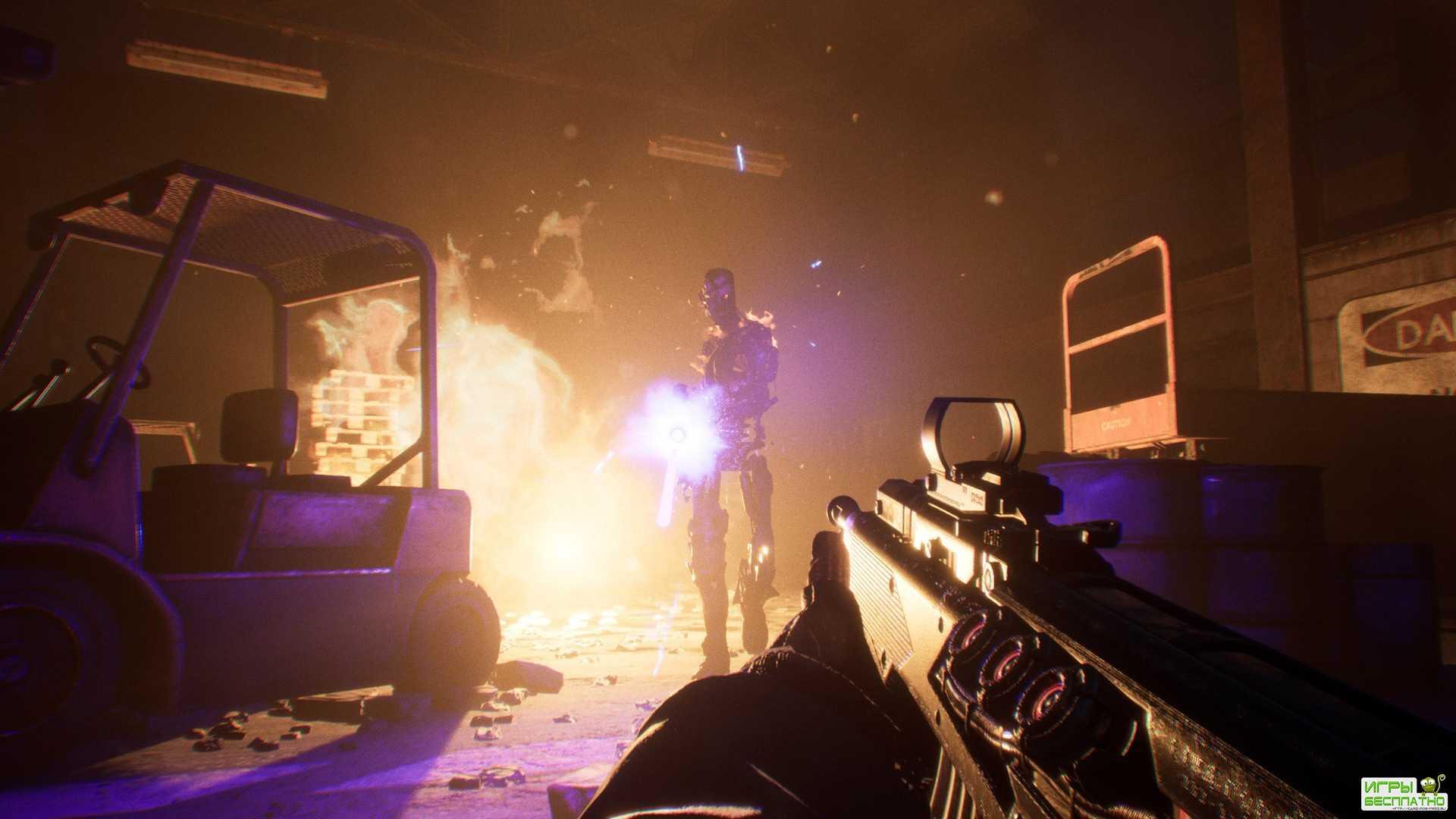 Авторы Terminator: Resistance показали начало игры и боевые сцены