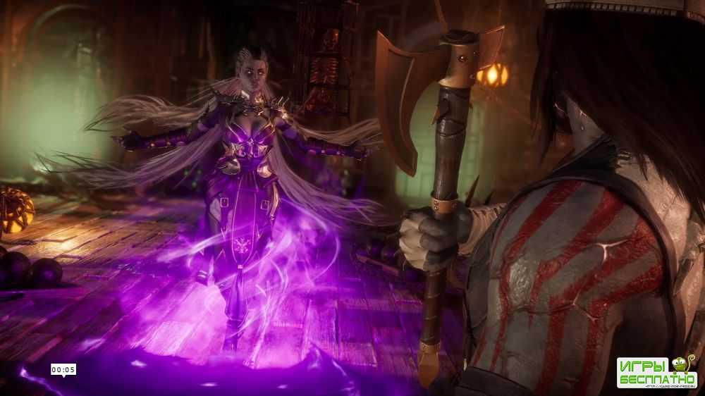 Вот так выглядит Синдел в Mortal Kombat 11