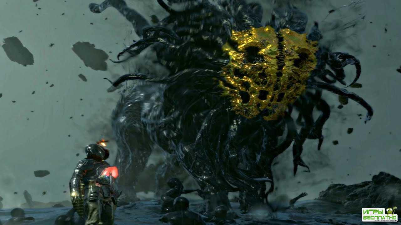 Death Stranding - Создание невидимых врагов