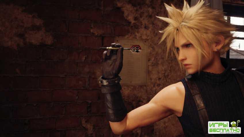 Разработка Final Fantasy VII идет полным ходом