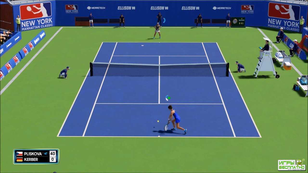 AO Tennis 2 GamePlay PC
