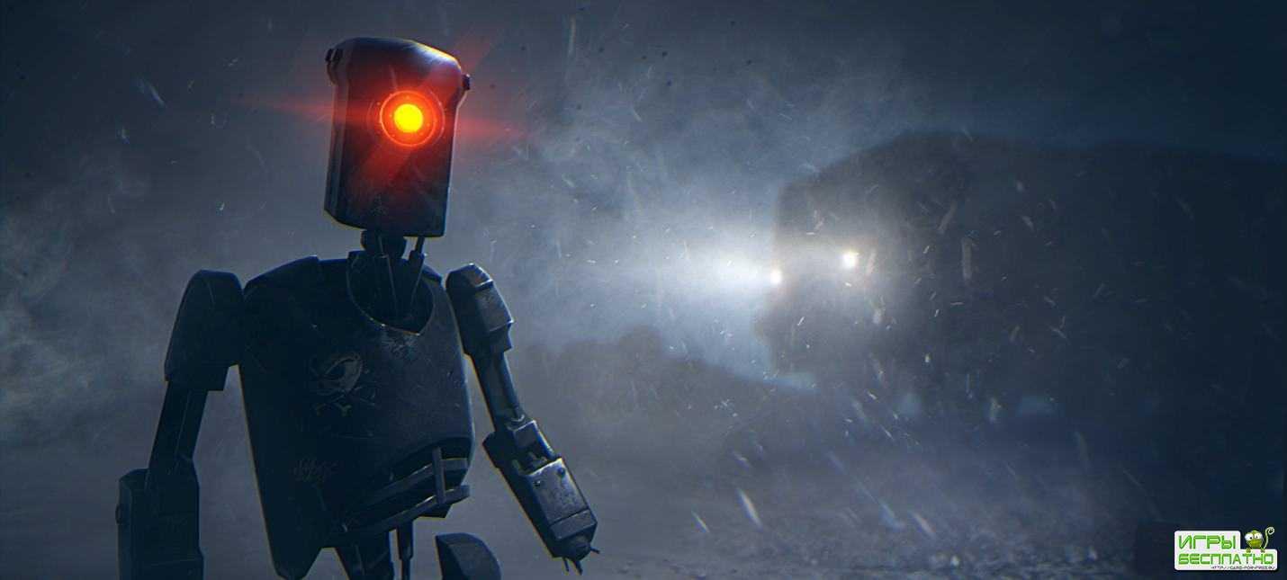 Тизер приключенческой игры в стилистике киберпанка 7th Sector