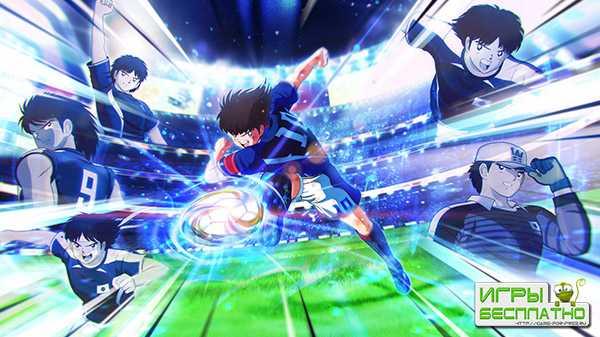 Демонстрация игрового процесса футбольного симулятора Captain Tsubasa: Rise of New Champions