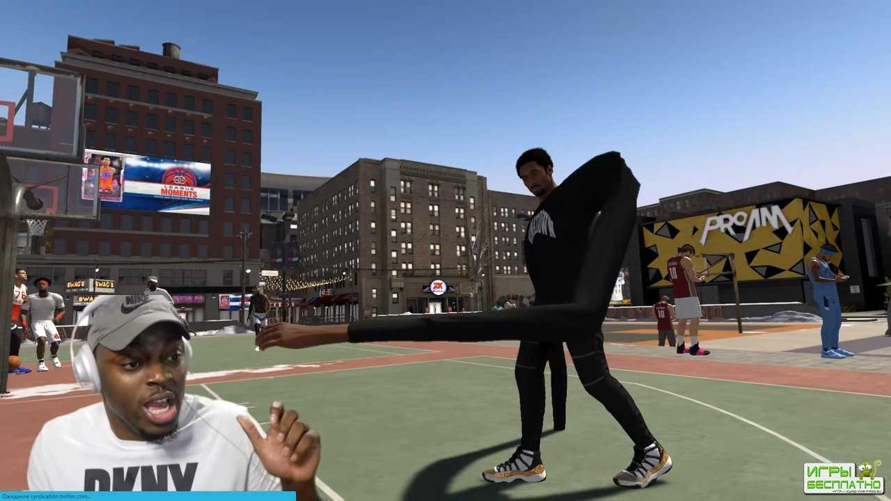 Забавный баг с длинными руками в NBA 2K20 «взорвал» соцсети