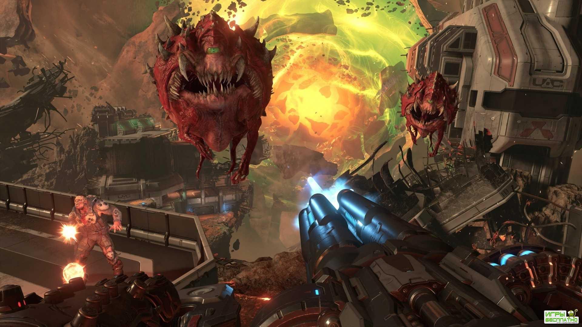 Представлен новый трейлер DOOM Eternal: сорок пять методов уничтожения демо ...
