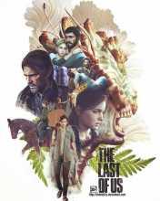 Фанат создал отличный постер The Last of Us, которым поделилась студия Naughty Dog
