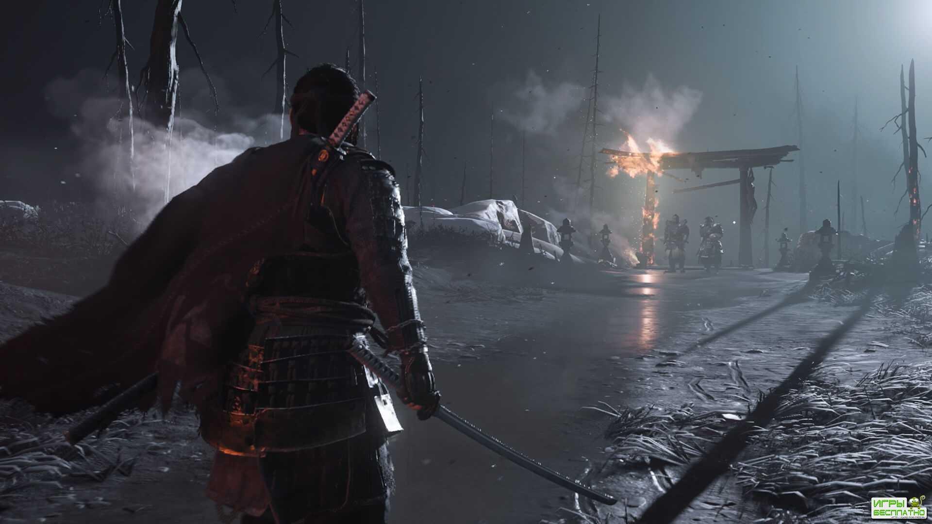 Sony показала свежий трейлер Ghost of Tsushima