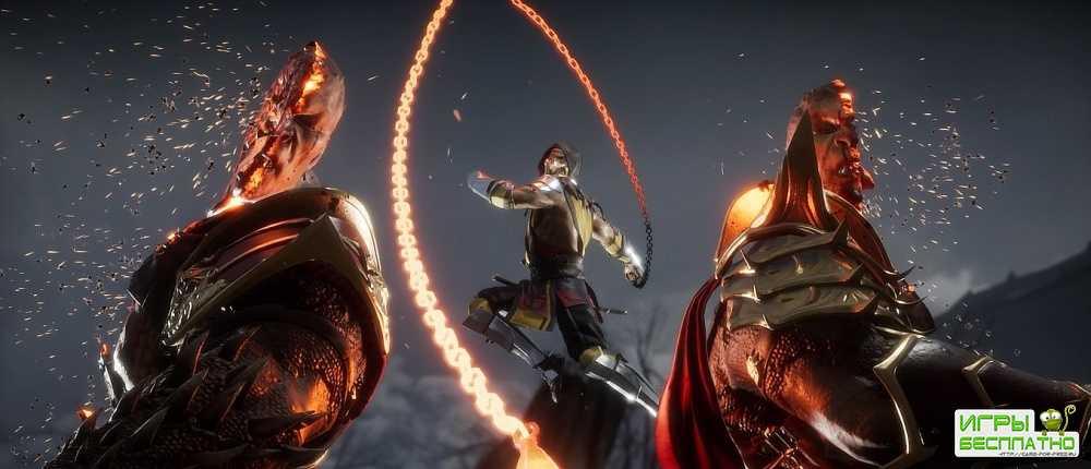 Появился «взрослый» трейлер мультфильма по Mortal Kombat с кровью и фаталити
