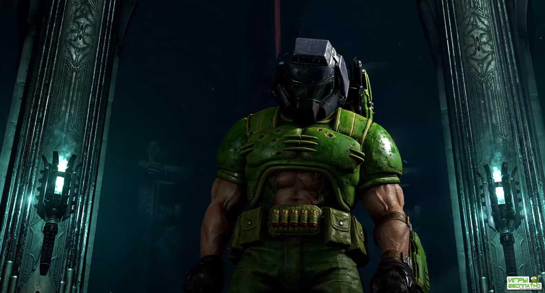 Трейлер, посвященный кастомизации героя в Doom Eternal