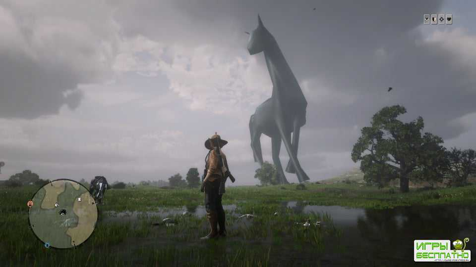 Red Dead Online заполонили огромные кони