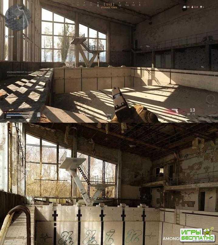 В all of Duty: Warzone есть Чернобыль