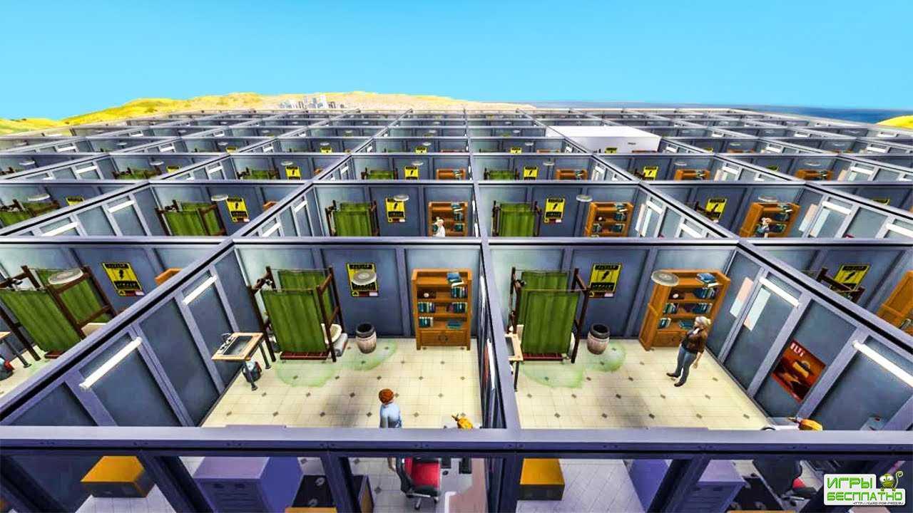 Блогер устроил карантин для 100 симов в The Sims 4: выжил только один