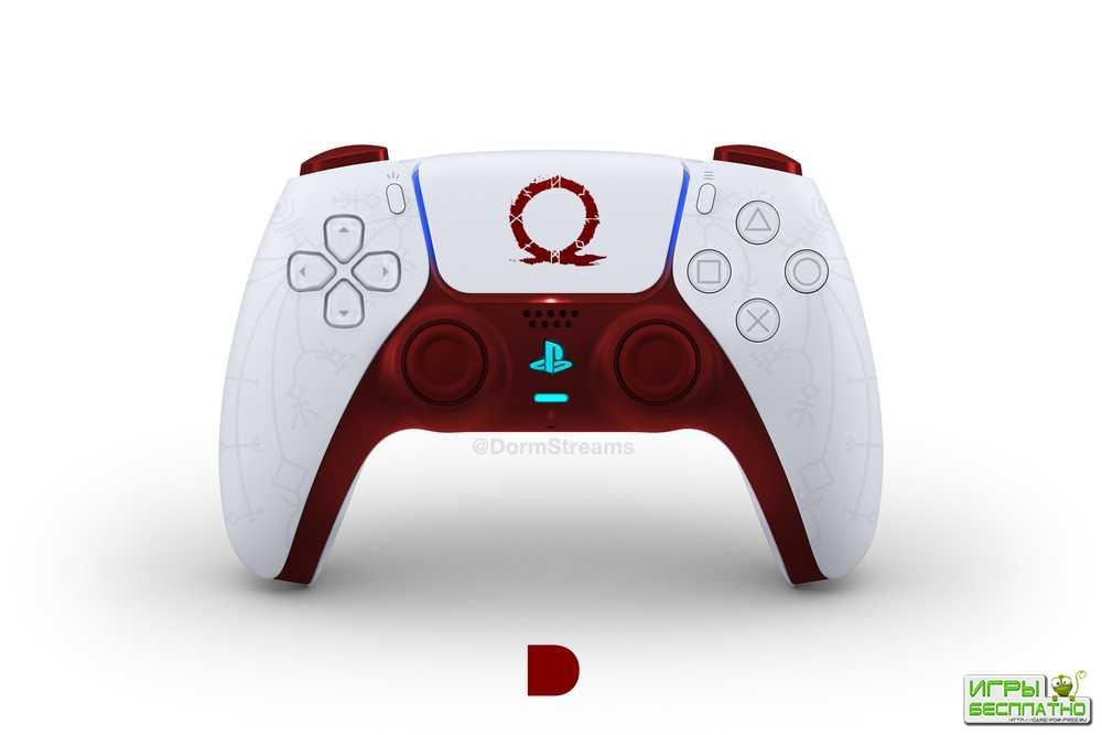 Художники нарисовали геймпад PS5 в стиле популярных игр