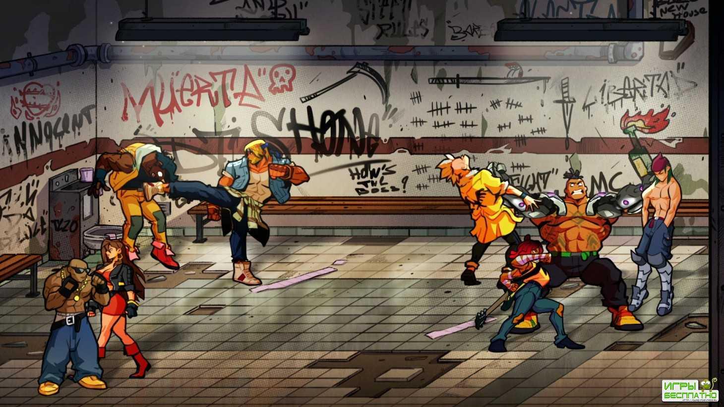Эксклюзивный геймплей Streets of Rage 4