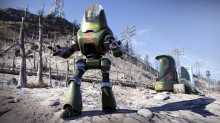Очередные странности Fallout 76 в виде робота-коммуниста