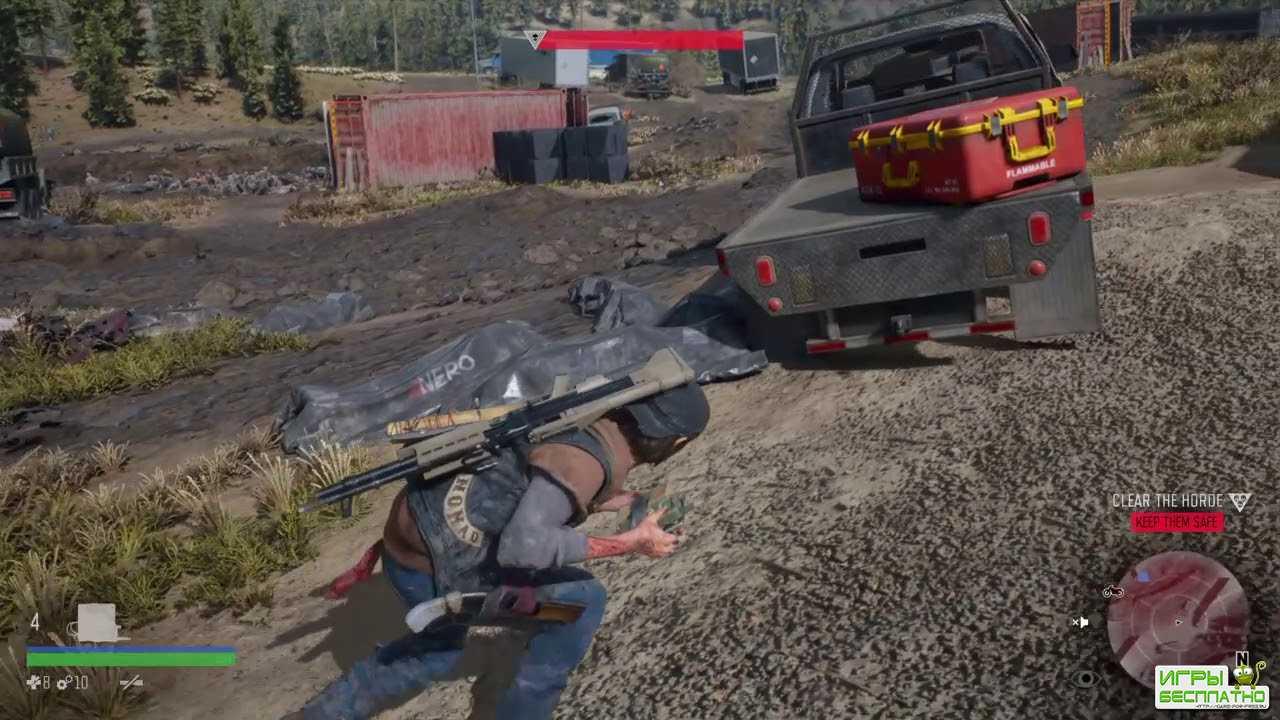 Days Gone: игроки победил орду из 300 зомби, не выпустив ни одной пули